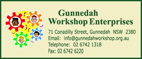Gunnedah Workshop Main Address