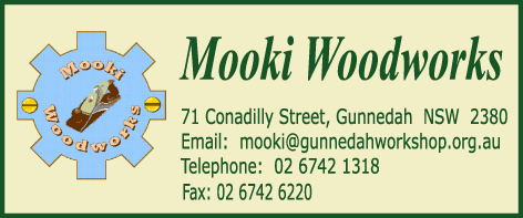 Mooki Woodworks Address